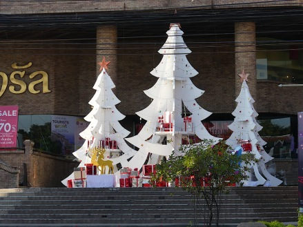 It's always Christmas in Chiang Mai!